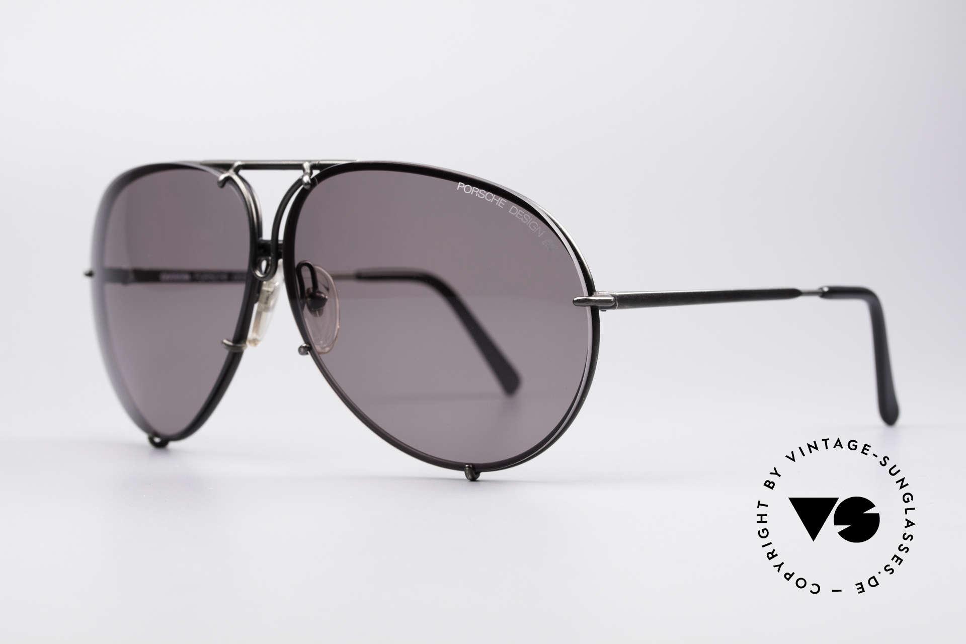 Porsche 5621 Seltene 80er XL Pilotenbrille, SEHR GROSSE 80er Ausführung & KEINE Retrobrille, Passend für Herren