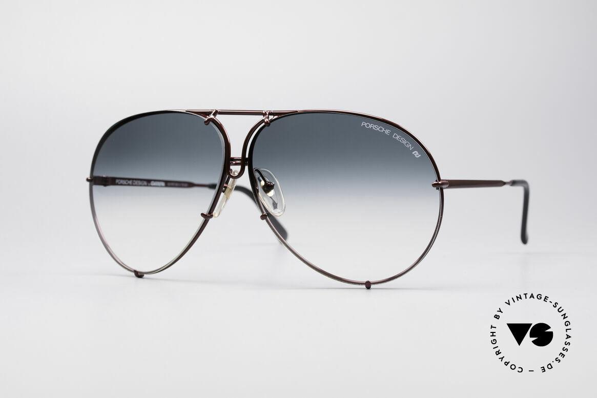 Porsche 5621 XL 80er Piloten Sonnenbrille, PORSCHE Design by Carrera Sonnenbrille von 1987, Passend für Herren und Damen