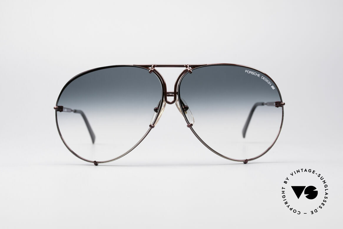 Porsche 5621 XL 80er Piloten Sonnenbrille, eines der meistgesuchten vintage Modelle; Rarität!, Passend für Herren und Damen