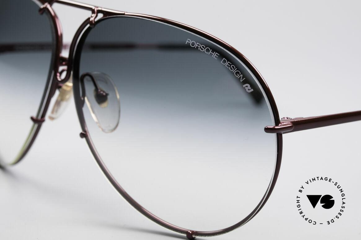 Porsche 5621 XL 80er Piloten Sonnenbrille, ungetragen, mit Wechselgläsern & orig. Porsche Etui, Passend für Herren und Damen