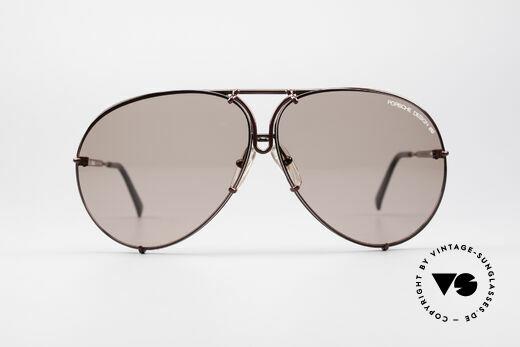 Porsche 5621 XL 80er Piloten Sonnenbrille, Modell 5621 = LARGE (SEHR GROSSE Ausführung), Passend für Herren und Damen