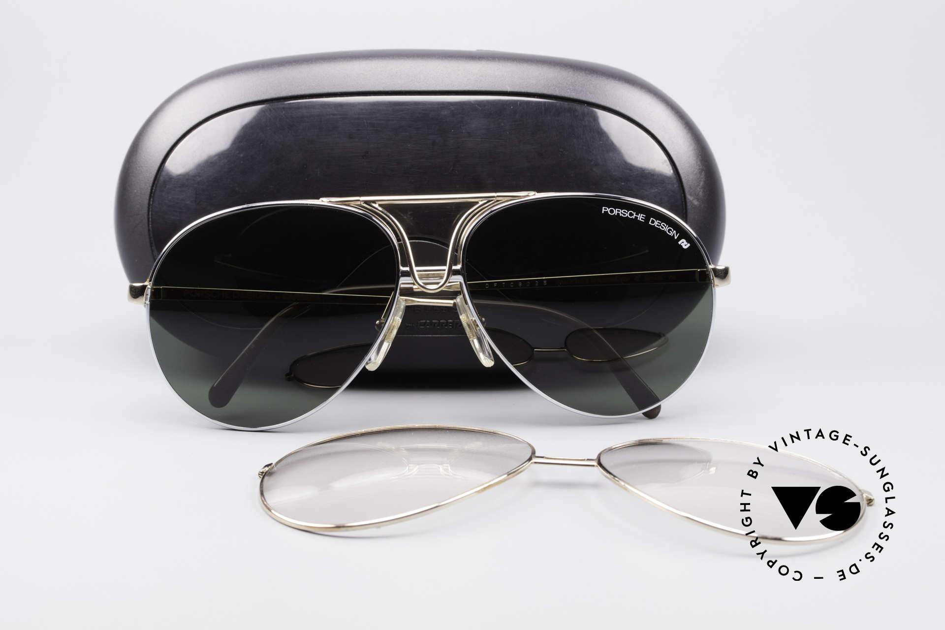 Sonnenbrillen Porsche 5657 90er Wechselrahmen Brille Vintage Sunglasses
