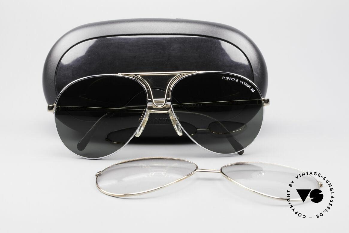 Sonnenbrillen Porsche 5657 90er Wechselrahmen Brille