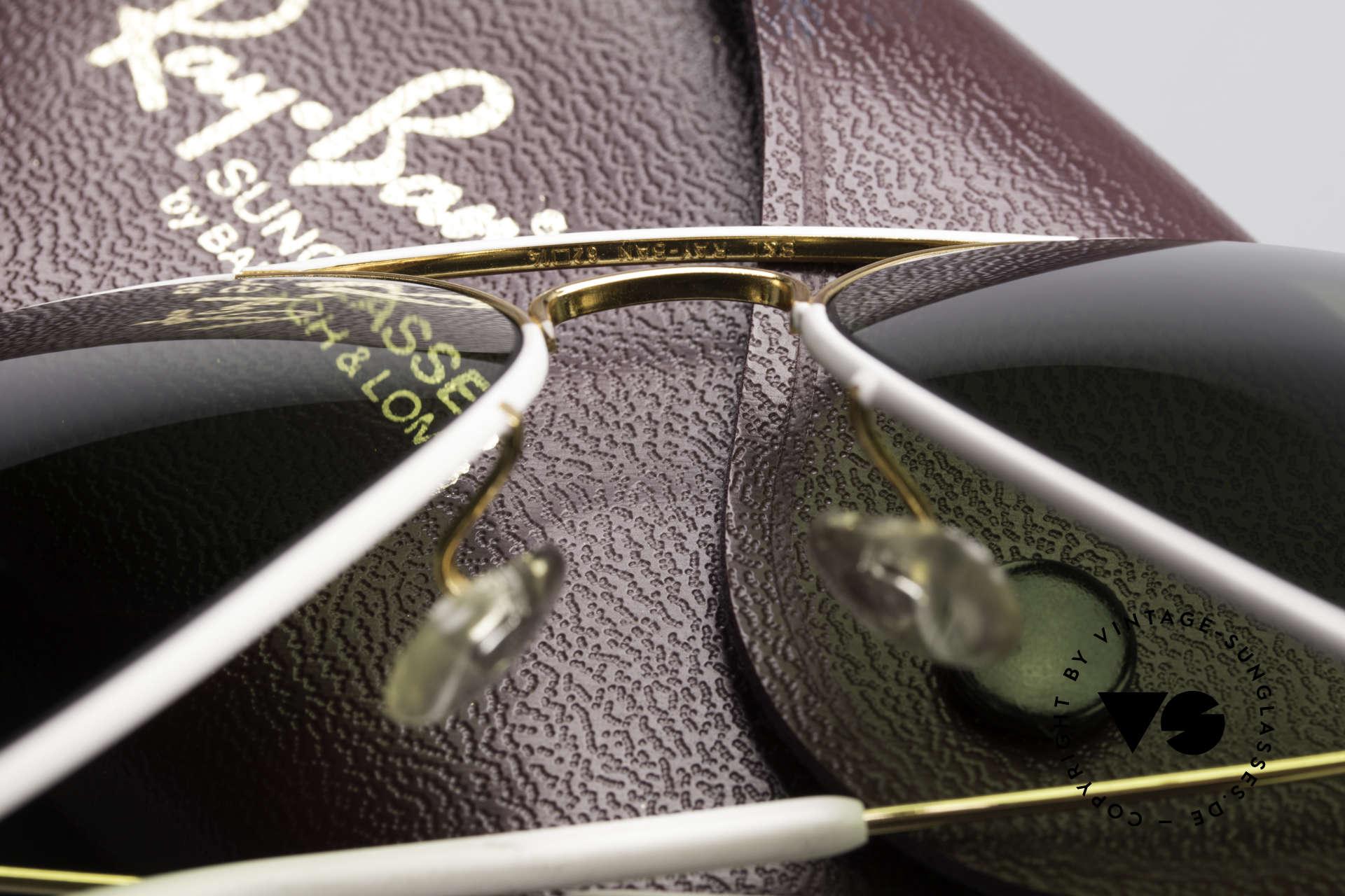 Ray Ban Large Metal II Flying Colors Limited Edition, ungetragen (wie alle unsere vintage Ray Ban Brillen), Passend für Herren