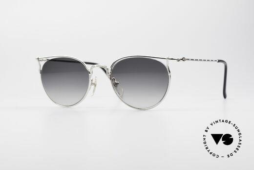 Jean Paul Gaultier 55-3177 Halb Randlose Vintage Brille Details