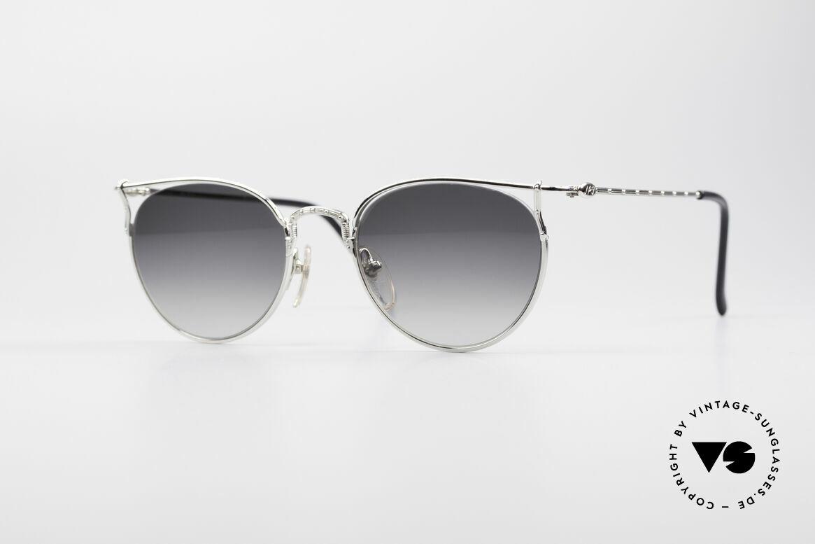 Jean Paul Gaultier 55-3177 Halb Randlose Vintage Brille, edle Jean Paul Gaultier 90er Jahre Sonnenbrille, Passend für Herren und Damen