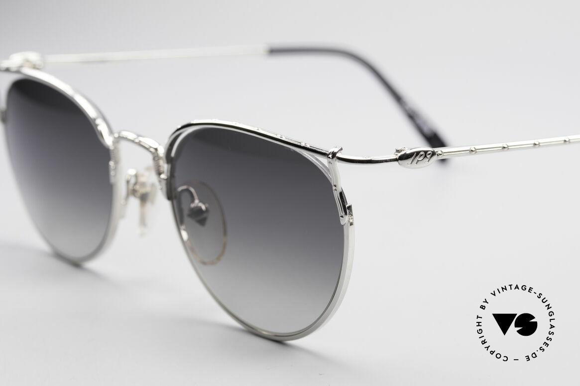 Jean Paul Gaultier 55-3177 Halb Randlose Vintage Brille, dunkelgraue Verlaufgläser (100% UV Protection), Passend für Herren und Damen