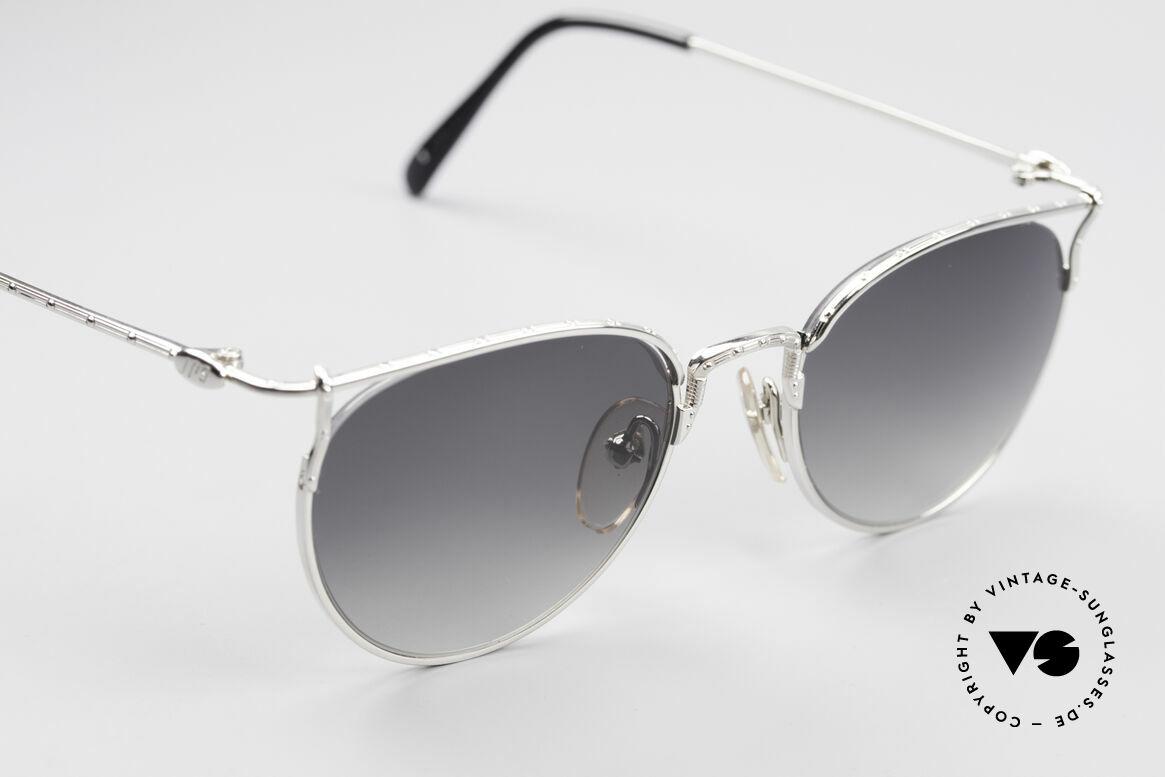 Jean Paul Gaultier 55-3177 Halb Randlose Vintage Brille, ungetragen (wie alle unsere J.P.G. Sonnenbrillen), Passend für Herren und Damen