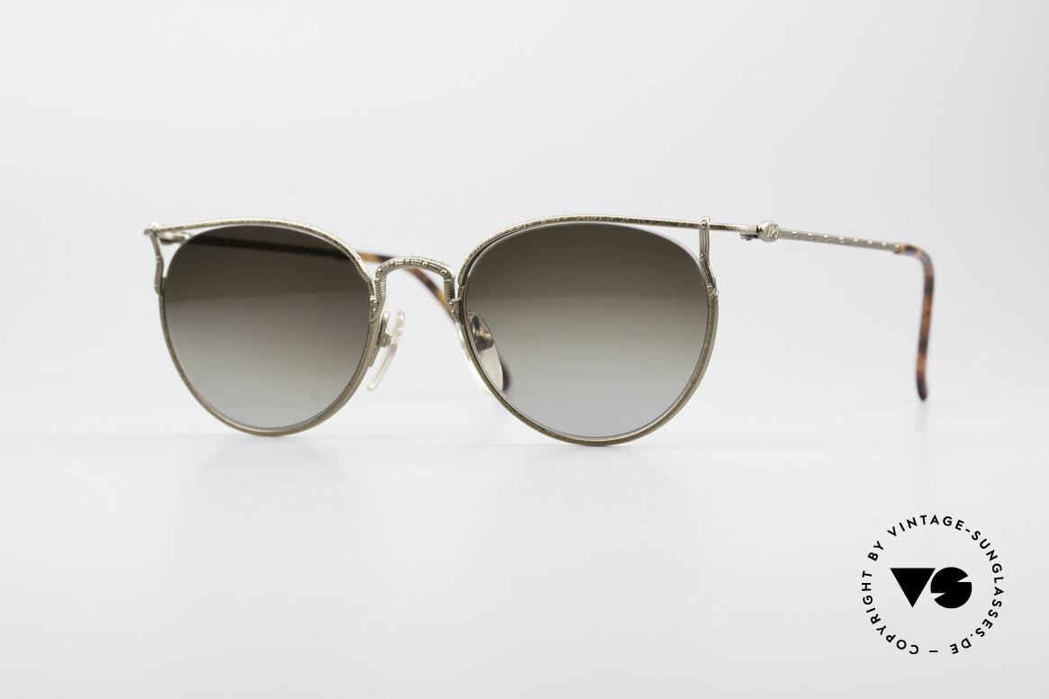 Jean Paul Gaultier 55-3177 Interessante Vintage Brille, edle Jean Paul Gaultier 90er Jahre Sonnenbrille, Passend für Herren und Damen