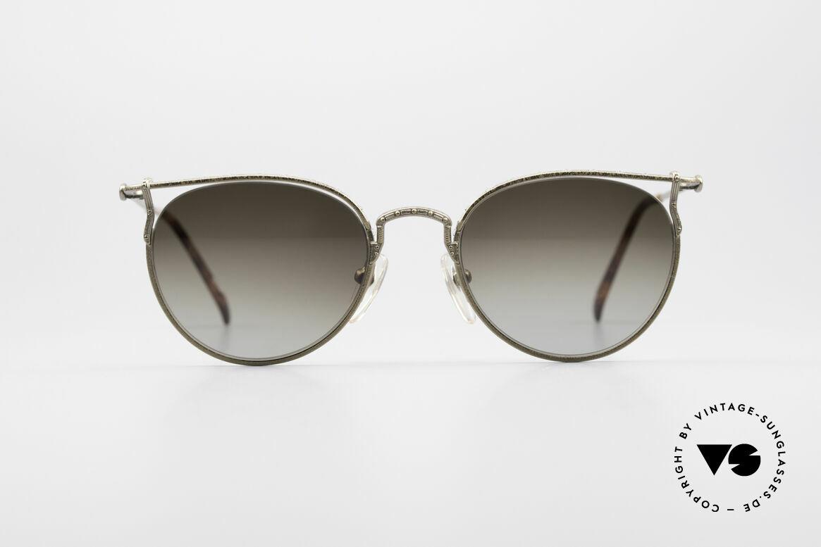 Jean Paul Gaultier 55-3177 Interessante Vintage Brille, sehr leichtes Gestell & mit zahlreichen Details, Passend für Herren und Damen