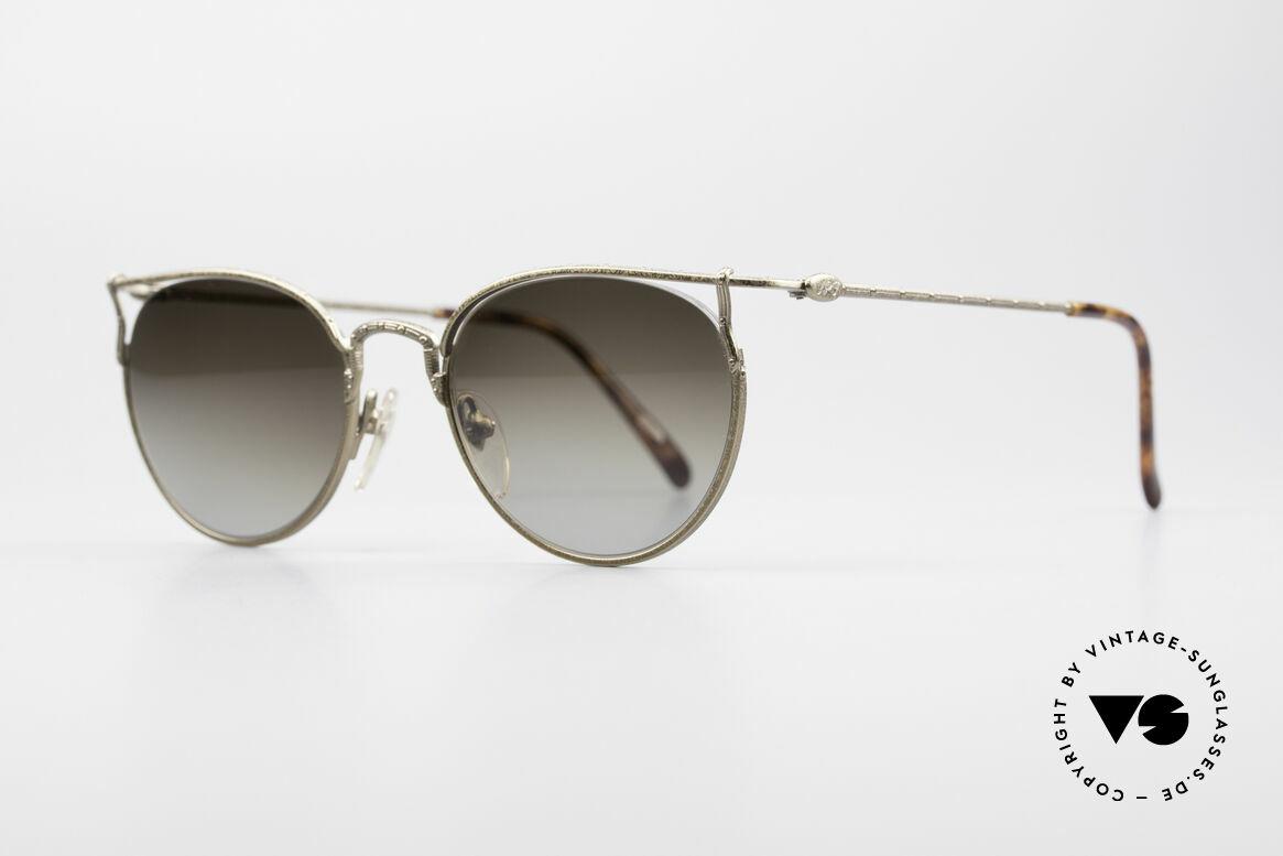Jean Paul Gaultier 55-3177 Interessante Vintage Brille, Rahmenkonstruktion mit randloser Glasfassung, Passend für Herren und Damen