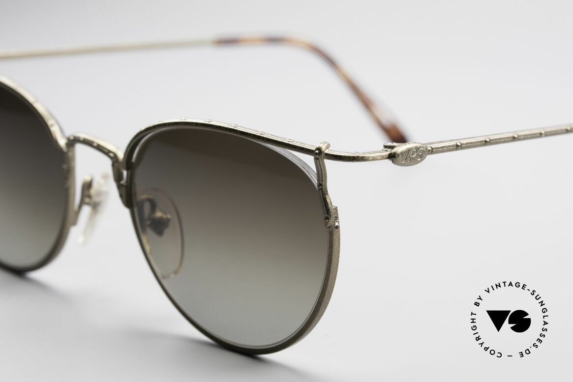 Jean Paul Gaultier 55-3177 Interessante Vintage Brille, dunkelbraune Verlaufgläser (100% UV Protection), Passend für Herren und Damen
