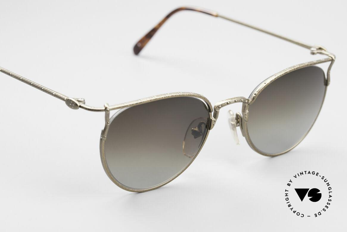 Jean Paul Gaultier 55-3177 Interessante Vintage Brille, ungetragen (wie alle unsere J.P.G. Sonnenbrillen), Passend für Herren und Damen