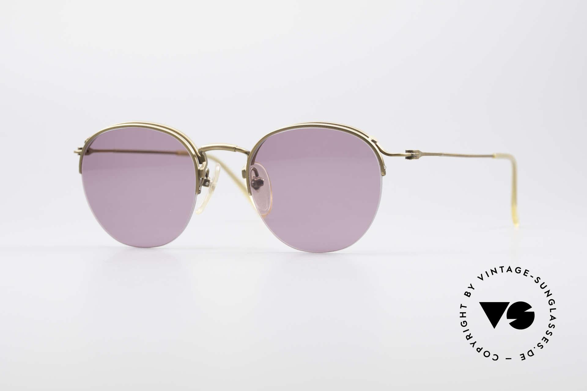 Jean Paul Gaultier 55-1172 True Vintage Sonnenbrille, edle Jean Paul Gaultier 90er Jahre Sonnenbrille, Passend für Herren und Damen
