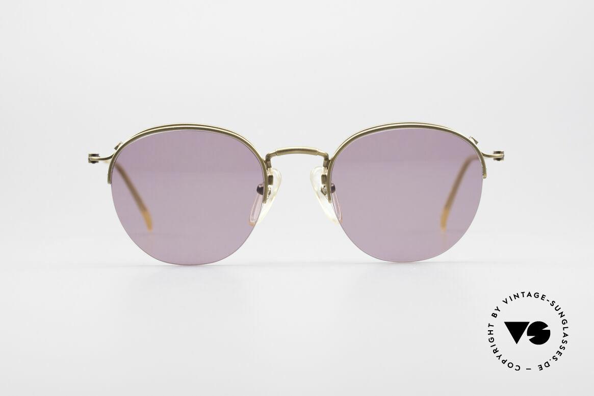 Jean Paul Gaultier 55-1172 True Vintage Sonnenbrille, sehr leichtes Gestell & mit zahlreichen Details, Passend für Herren und Damen