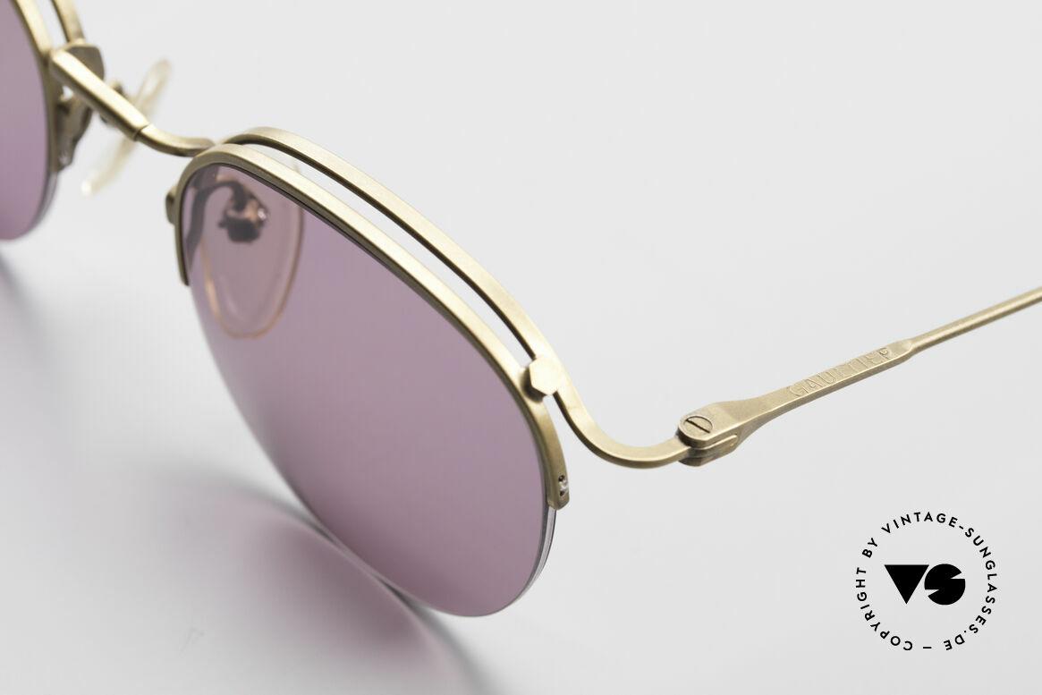 Jean Paul Gaultier 55-1172 True Vintage Sonnenbrille, ungetragen (wie alle unsere J.P.G. Sonnenbrillen), Passend für Herren und Damen