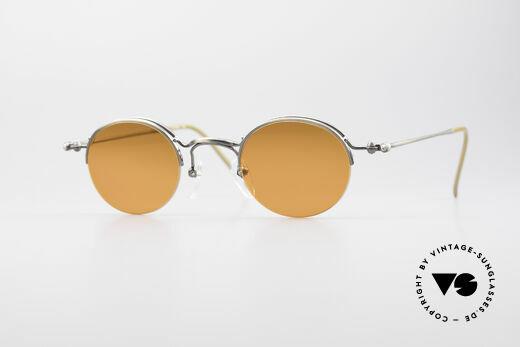 Jean Paul Gaultier 55-7108 Kleine Vintage Panto Brille Details
