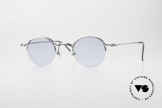 Jean Paul Gaultier 55-7108 Kleine Runde Panto Brille Details