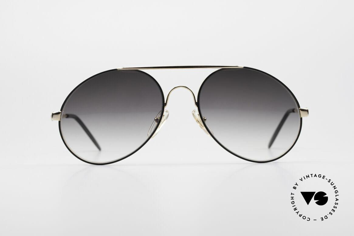 Bugatti 64324 XL Brille Mit Extra Gläsern, edle und hochwertige Bugatti vintage Sonnenbrille, Passend für Herren