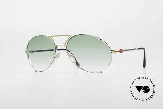 Bugatti 65360 Rare 80er Herren Sonnenbrille Details