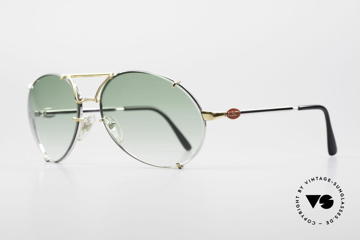 Bugatti 65360 80er Herren Sonnenbrille