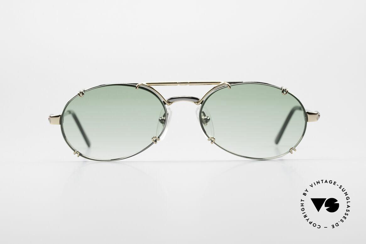 Bugatti 13526 90er Herren Sonnenbrille, sehr edle und hochwertige BUGATTI Sonnenbrille, Passend für Herren