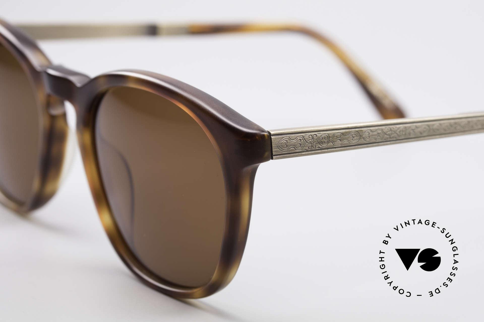 Matsuda 2816 90er Vintage Sonnenbrille, Gläser mit enormer Sättigung (100% UV Schutz), Passend für Herren