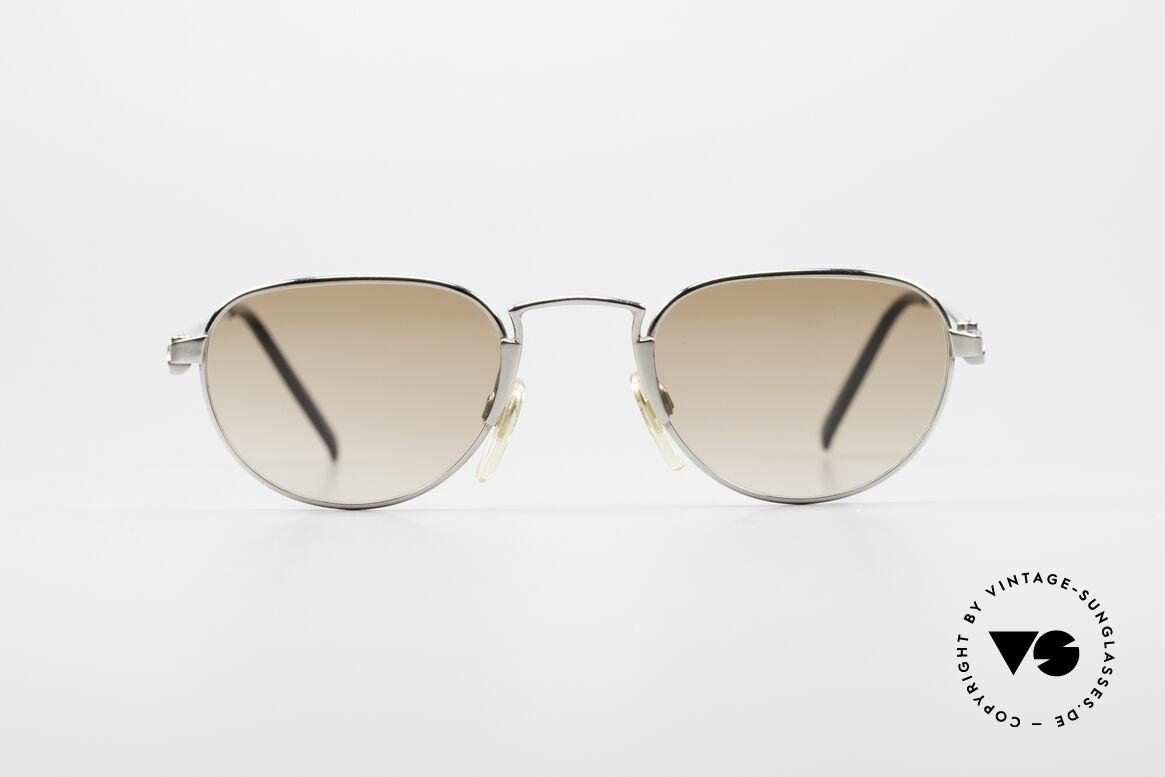 Bugatti EB605 Kleine Vintage Sonnenbrille, sehr feine & leichte DesignerSonnenbrille von Bugatti, Passend für Herren und Damen