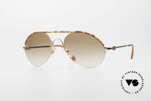 Bugatti 64919 Halb Rahmenlose Sonnenbrille Details