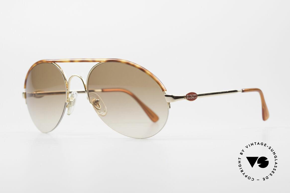 Bugatti 64919 Halb Rahmenlose Sonnenbrille