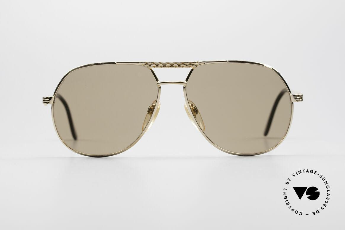 Bugatti EB502 - L Zeiss Mineral Gläser, vintage Bugatti Sonnenbrille in unglaublicher Qualität, Passend für Herren