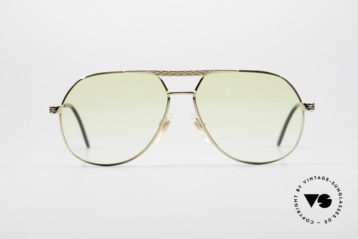 Bugatti EB502 - M Vintage Aviator Sonnenbrille, vintage Bugatti Sonnenbrille in unglaublicher Qualität, Passend für Herren