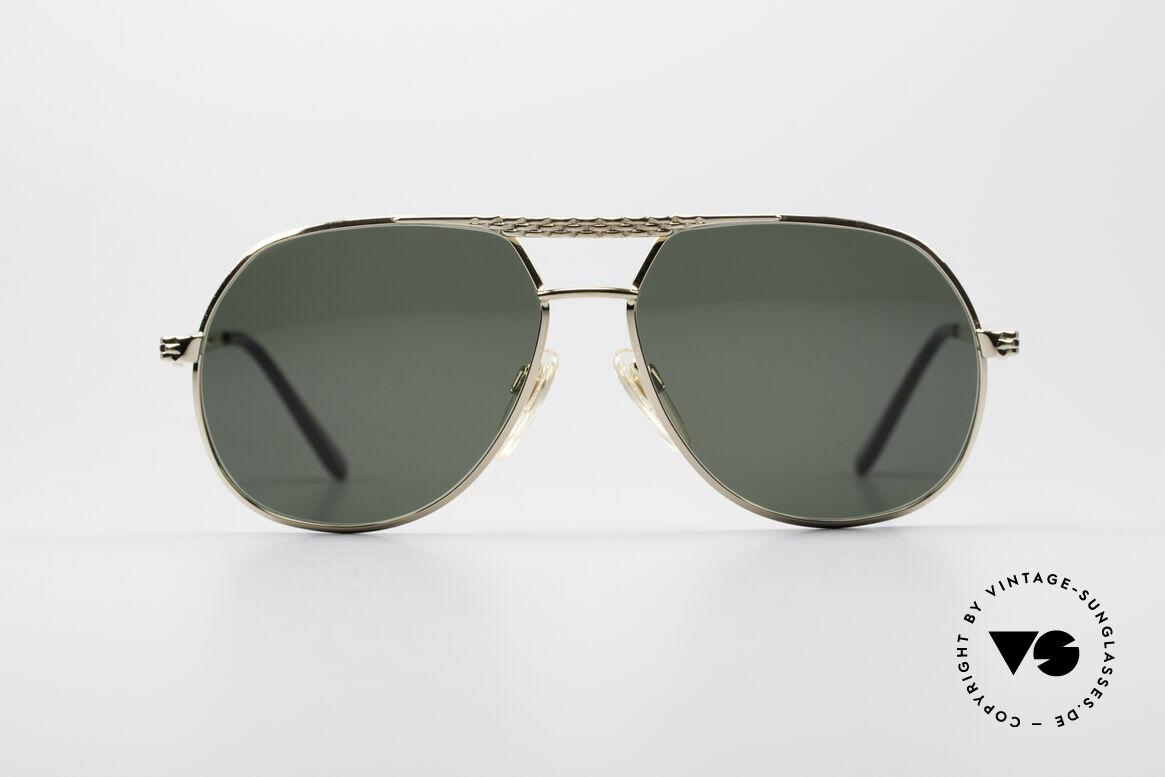 Bugatti EB502 - S Vintage Luxus Sonnenbrille, vintage Bugatti Sonnenbrille in unglaublicher Qualität, Passend für Herren und Damen