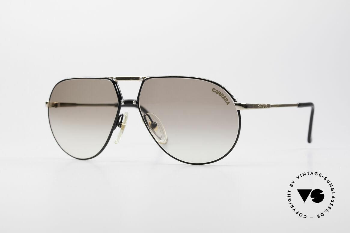Carrera 5326 - S 80er Herren Sonnenbrille, vintage Sonnenbrille von Carrera mit Doppelsteg, Passend für Herren und Damen