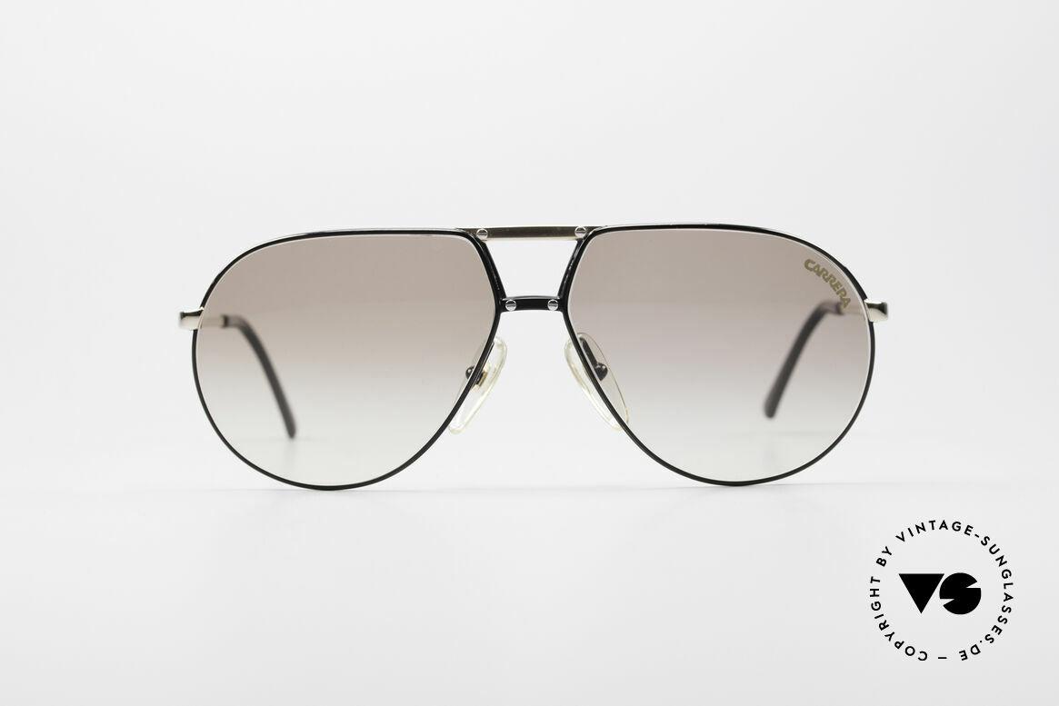 Carrera 5326 - S 80er Herren Sonnenbrille, klassisches Piloten-Brillendesign der 80er Jahre, Passend für Herren und Damen
