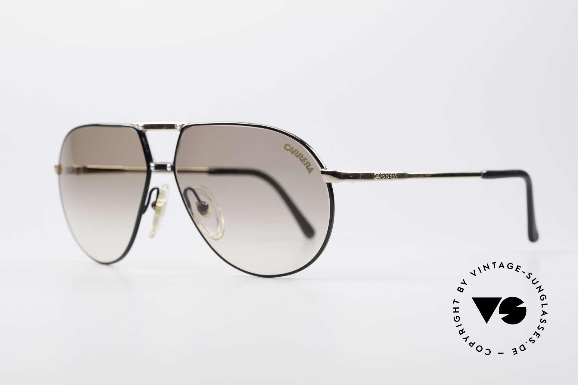 Carrera 5326 - S 80er Herren Sonnenbrille, fühlbare Top-Verarbeitung in SMALL Größe 58/12, Passend für Herren und Damen