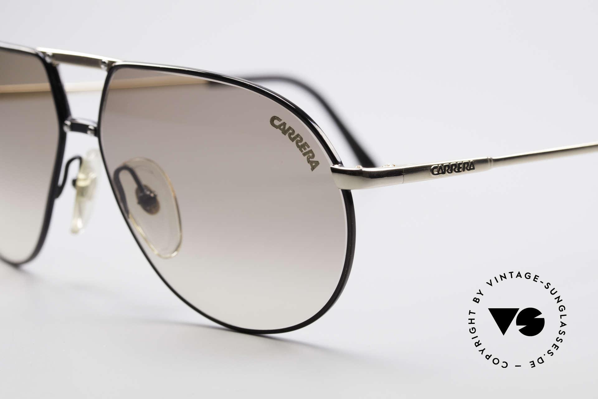 Carrera 5326 - S 80er Herren Sonnenbrille, mit bicolor Lackierung und kleinen Zierschrauben, Passend für Herren und Damen