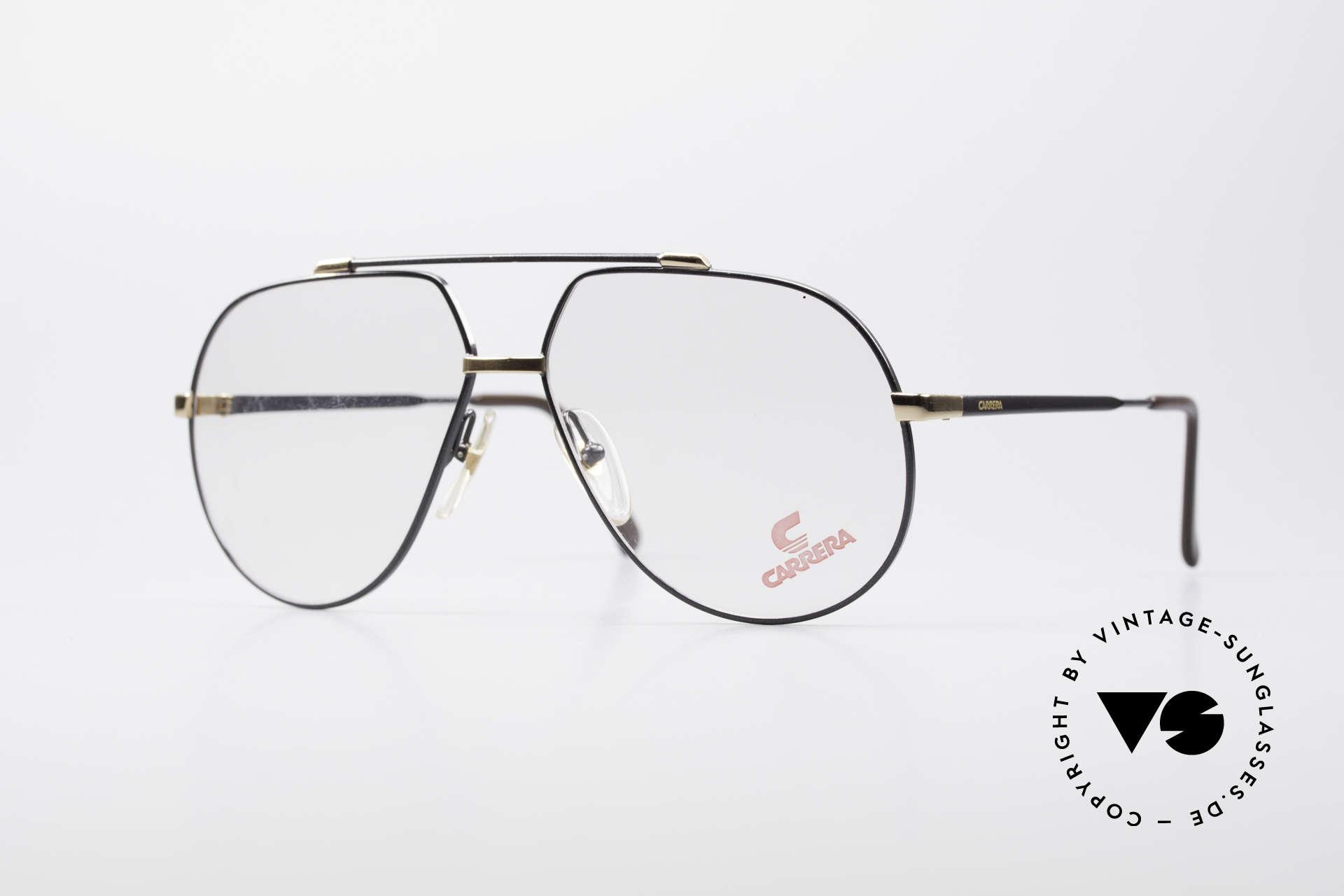Carrera 5369 Herren Large Vintage Brille, vintage CARRERA Brillenfassung mit Doppelsteg, Passend für Herren
