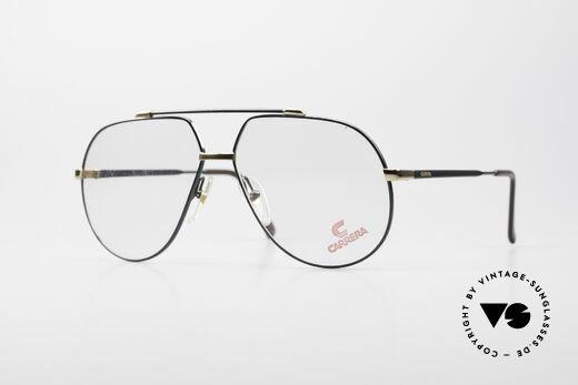Carrera 5369 Herren Large Vintage Brille Details