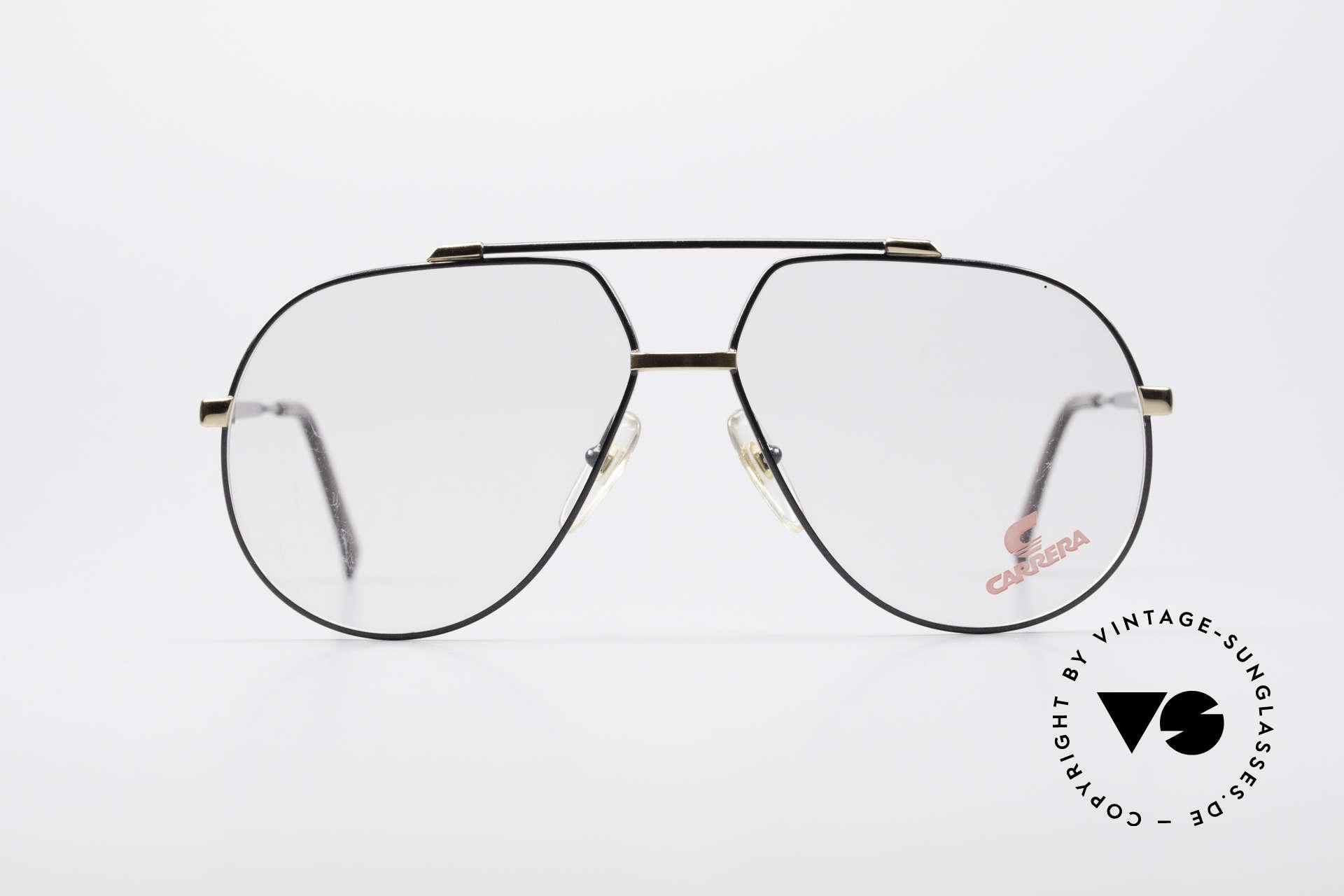 Carrera 5369 Herren Large Vintage Brille, klassisches Piloten-Brillendesign der 90er Jahre, Passend für Herren