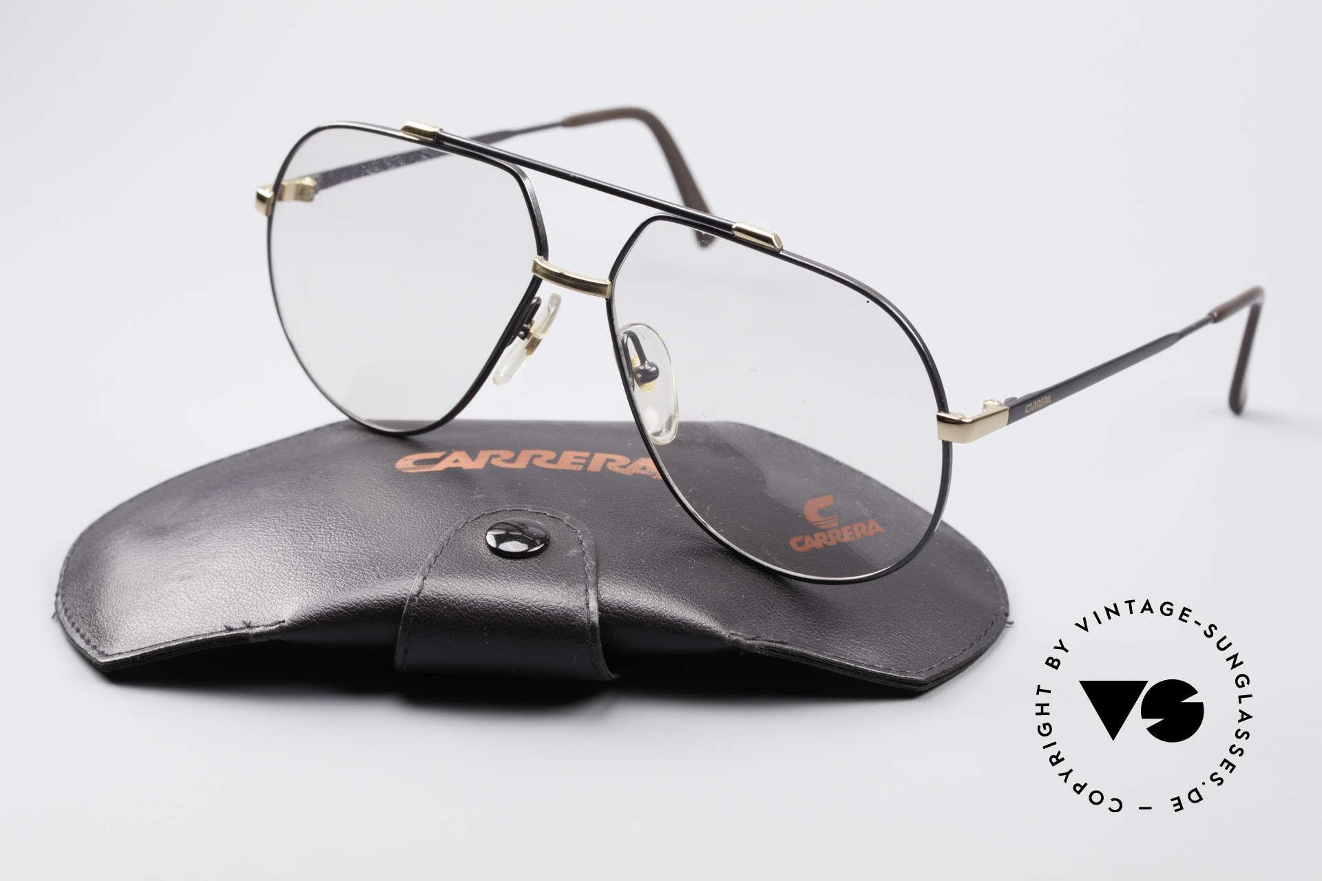 Carrera 5369 Herren Large Vintage Brille, KEINE Retrobrille; sondern ein 1990er ORIGINAL, Passend für Herren