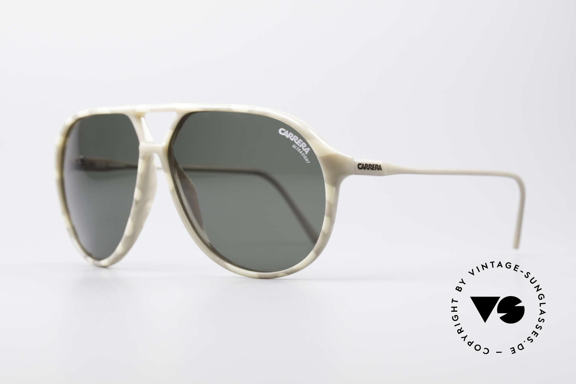Carrera 5425 Robert De Niro Brille, 2 Paar Gläser: 1 x grün ULTRASIGHT & 1 x grau-Verlauf, Passend für Herren
