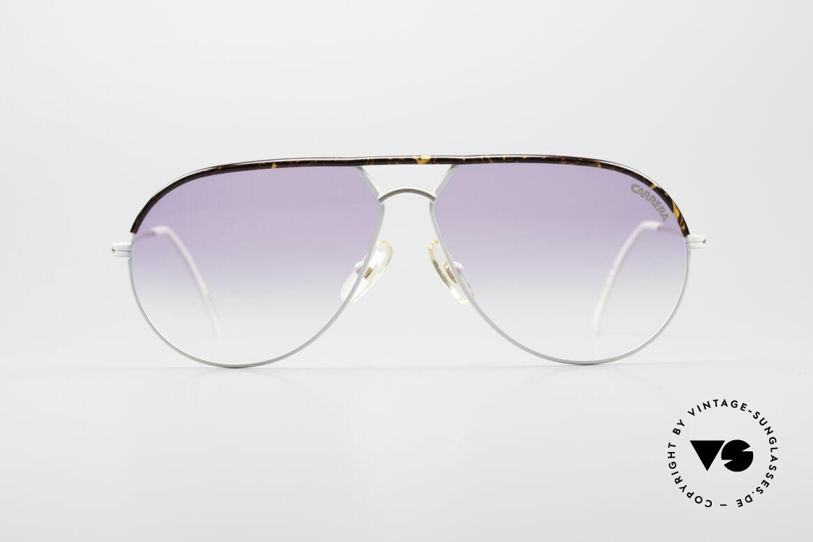 Carrera 5428 Rare Vintage Sonnenbrille, solide Metall-Fassung in herausragender Qualität, Passend für Herren und Damen