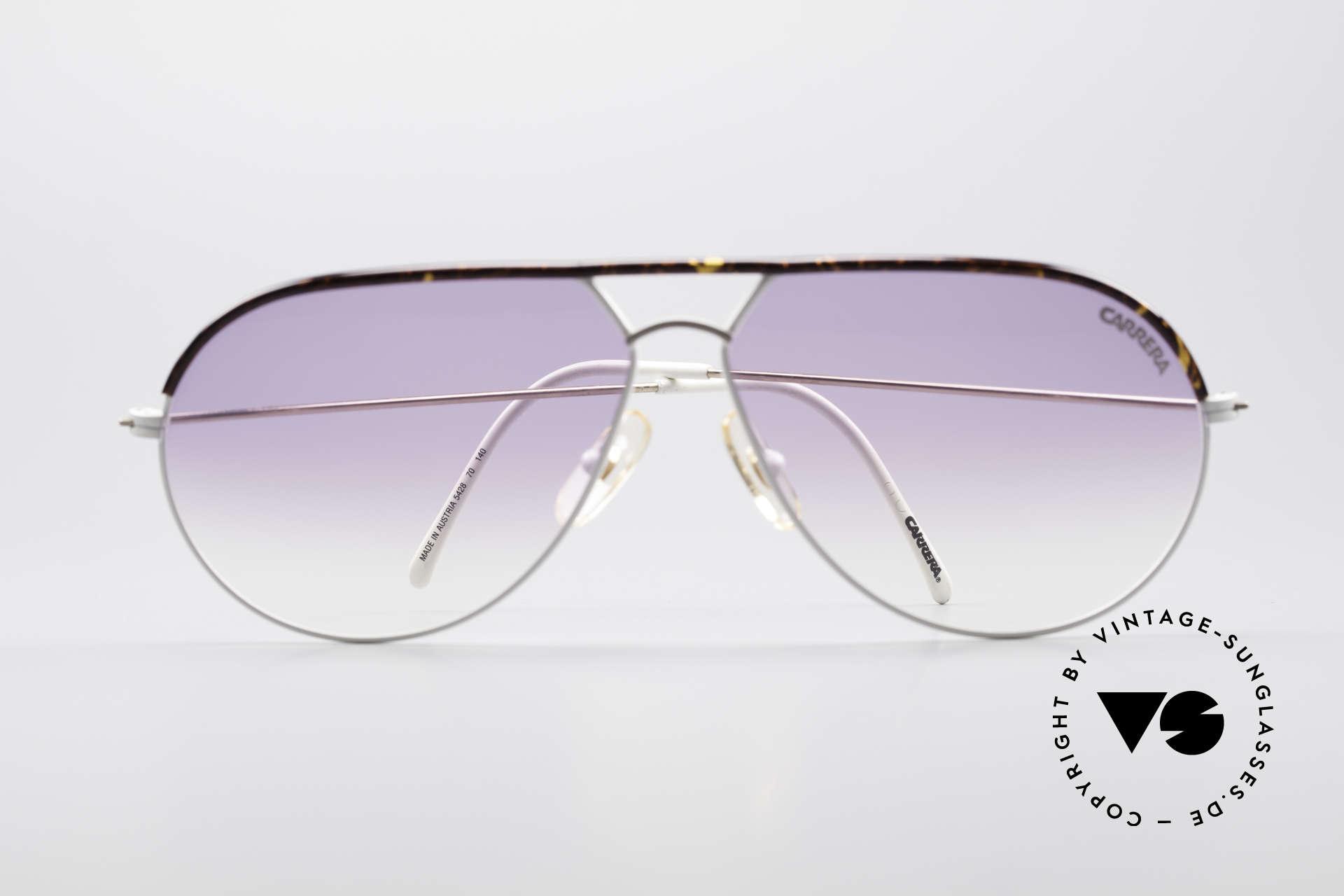 Carrera 5428 Rare Vintage Sonnenbrille, KEINE Retrobrille, sondern ein altes 80er Original!, Passend für Herren und Damen