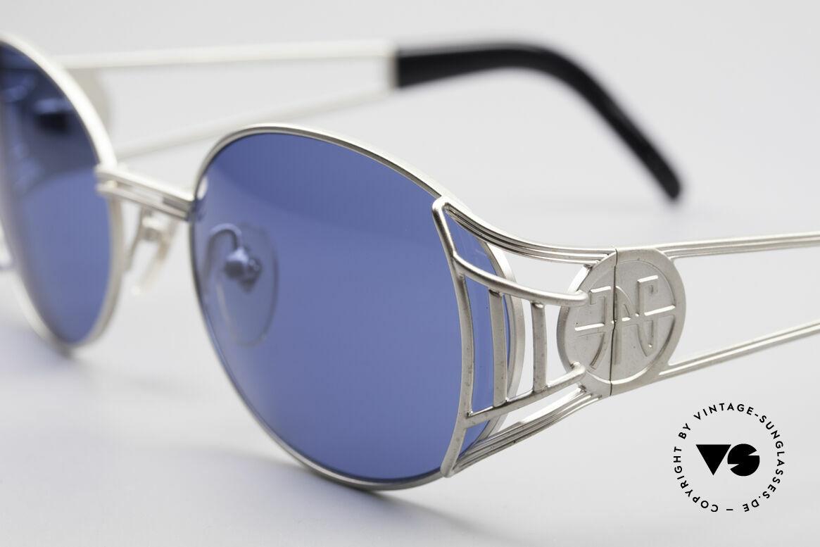 Jean Paul Gaultier 58-6102 Steampunk Sonnenbrille, absolute vintage Rarität in fühlbarem Top-Zustand, Passend für Herren und Damen