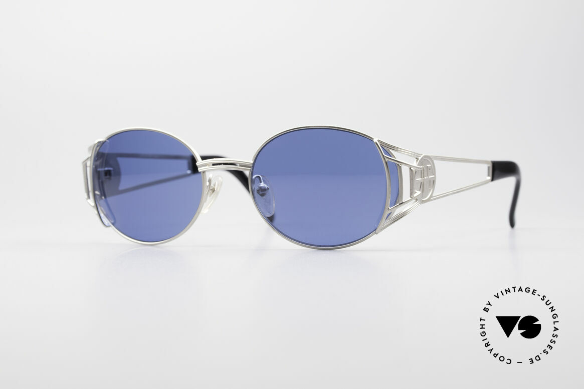 Jean Paul Gaultier 58-6102 Steampunk Sonnenbrille, hochwertiges & kreatives Jean Paul Gaultier Design, Passend für Herren und Damen