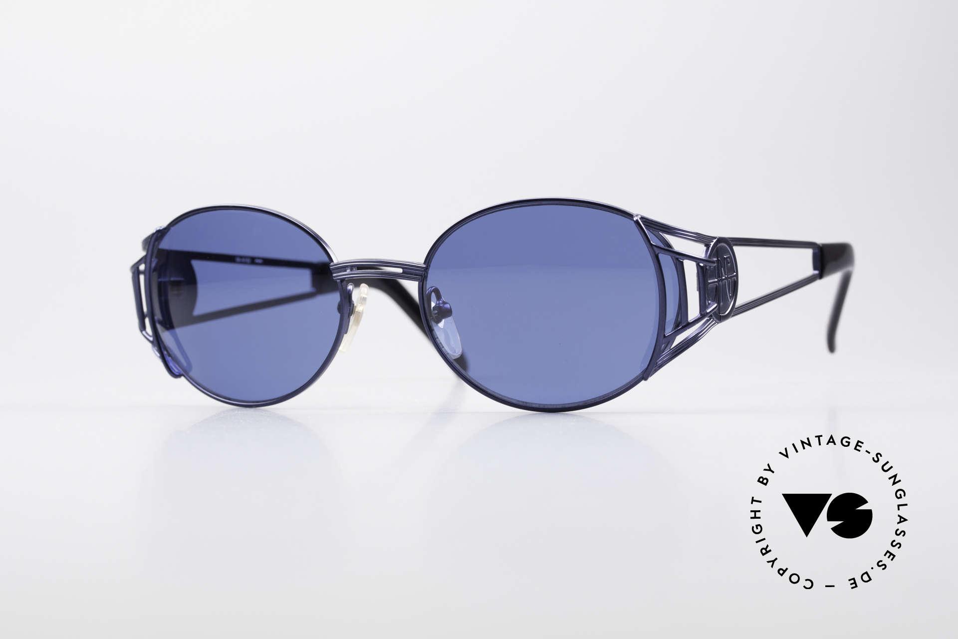 Jean Paul Gaultier 58-6102 Vintage Steampunk Brille, hochwertiges & kreatives Jean Paul Gaultier Design, Passend für Herren und Damen