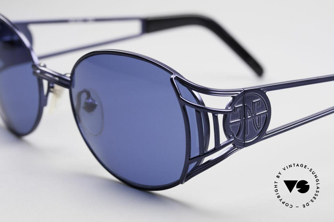 Jean Paul Gaultier 58-6102 Vintage Steampunk Brille, absolute vintage Rarität in fühlbarem Top-Zustand, Passend für Herren und Damen