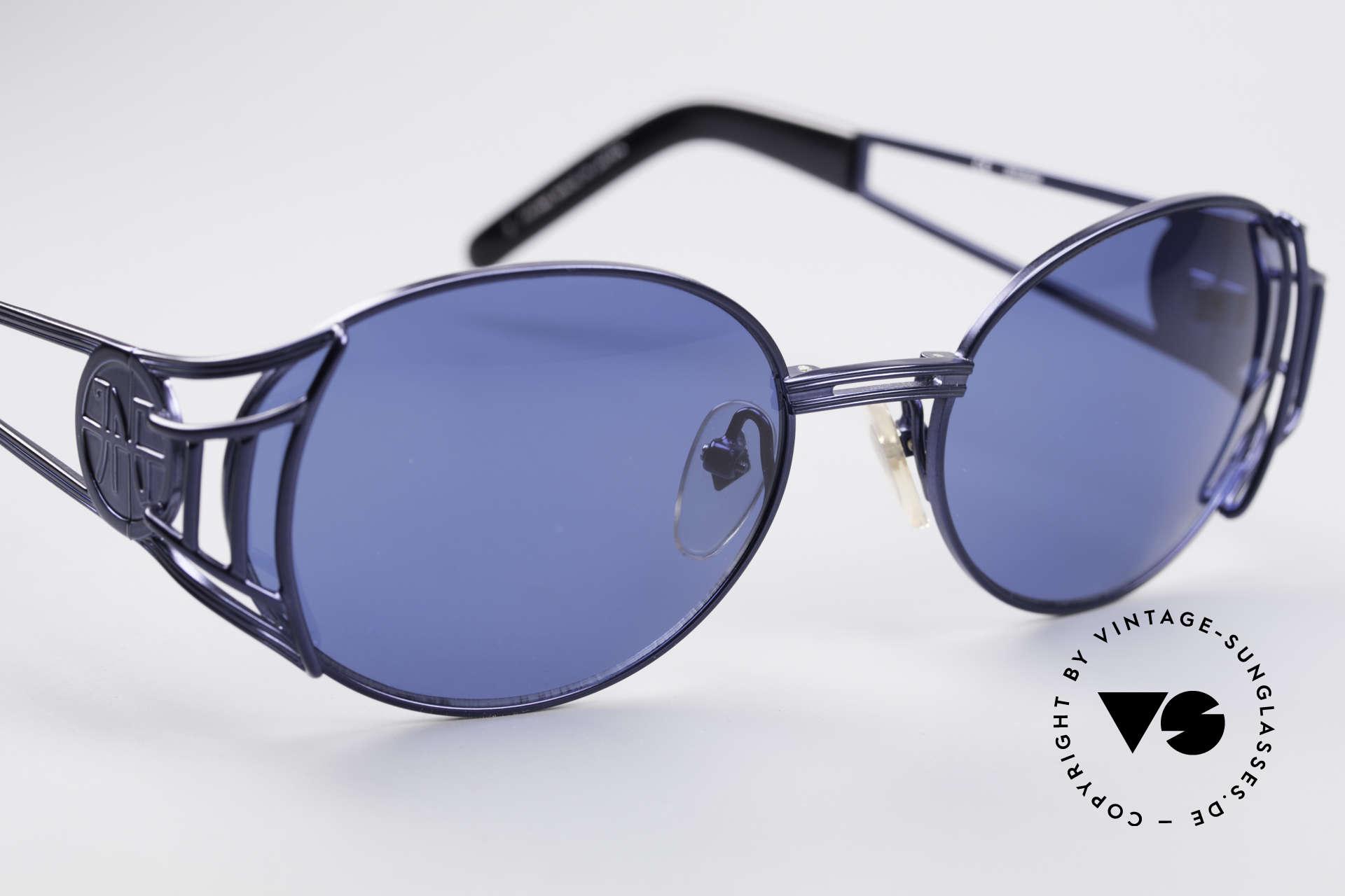 Jean Paul Gaultier 58-6102 Vintage Steampunk Brille, ungetragen (wie alle unsere Gaultier Sonnenbrillen), Passend für Herren und Damen