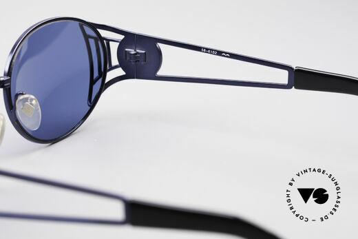 Jean Paul Gaultier 58-6102 Vintage Steampunk Brille, KEINE RETROBRILLE; ein 20 Jahre altes ORIGINAL, Passend für Herren und Damen